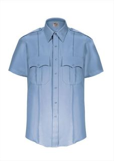 Elbeco Z3313N TexTrop2 Short Sleeve Shirt with Hidden Zipper - Mens