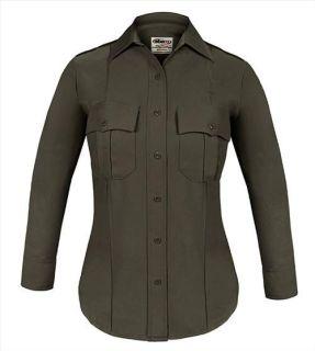 Elbeco Z9315LCN TexTrop2 Long Sleeve Shirt with Hidden Zipper - Womens