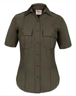Elbeco Z9814LCN TexTrop2 Short Sleeve Shirt with Hidden Zipper - Womens