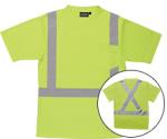 ERB SAFETY 9006SX ANSI Class 2 Long Sleeve Birdseye Knit Mesh