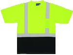 ERB SAFETY 9604S 9604S ANSI Class 2 T-Shirt Short Sleeve w/Reflective Tape
