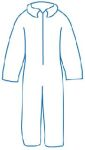 ERB Safety PC120 PC 120 Protective Coveralls