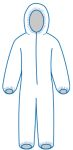 ERB Safety PC127 PC 127 Protective Coveralls