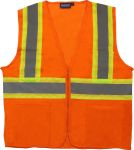 ERB SAFETY S148 ANSI Class 2 Mesh - Zipper