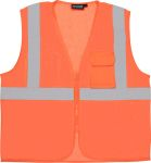 ERB Safety S169 ANSI Class 2 Surveyor's vestVest Mesh - Zipper