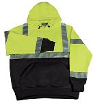 ERB SAFETY W377 ANSI Class 2 Black Bottom Sweatshirt