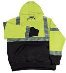 ERB SAFETY W377 ANSI Class 2 Black Bottom Sweatshirt