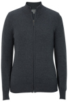 Edwards 064 Edwards Ladies' Full-Zip Fine Gauge Cardigan Sweater