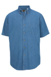 Edwards Denim Midweight Short Sleeve Shirt