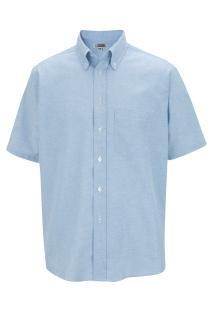 Edwards 1027 Edwards Men's Short Sleeve Oxford Shirt