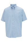 Edwards 1027 Men's Short Sleeve Oxford Shirt