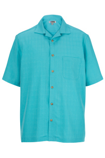 Edwards 1030 Edwards Jacquard Batiste Camp Shirt