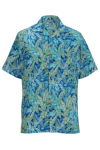 Edwards 1032 Edwards Tropical Leaf Camp Shirt