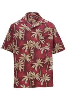 Edwards 1034 Edwards Tropical Palm Tree Camp Shirt