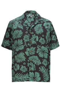 Edwards 1036 Edwards Hibiscus 2-Color Camp Shirt