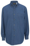 Edwards 1090 Men's Heavy Weight Denim Shirt