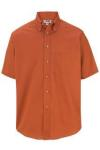 Edwards 1230 Edwards Men's Easy Care Short Sleeve Poplin Shirt