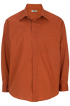 Edwards 1287 Edwards Men's Easy Care Point Collar Poplin Shirt