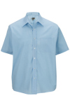 Edwards 1313 Men's Short Sleeve Value Broadcloth Shirt