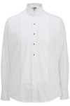 Edwards 1390 Edwards Men's Wing Collar Tuxedo Shirt