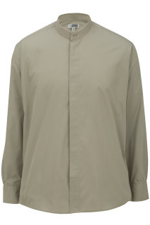 Edwards 1396 Edwards Men's Banded Collar Shirt