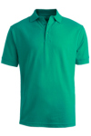 Edwards 1500 Edwards Men's Blended Pique Short Sleeve Polo