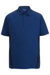 Edwards 1513 Edwards Men's Snag-Proof Color Block Short Sleeve Polo
