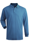 Edwards 1515 Men's Long Sleeve Pique Polo (no pocket)