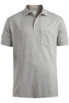 Edwards 1535 Edwards Cotton Pique Short Sleeve Polo With Pocket