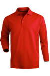 Edwards 1578 Edwards Hi-Performance Mesh Long Sleeve Polo