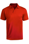 Edwards 1580 Edwards Men's Performance Flat-Knit Short Sleeve Polo