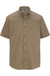 Edwards 1740 Edwards Men's Cottonplus Short Sleeve Twill Shirt