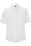 Edwards 1925 Edwards Men's Pinpoint Oxford Shirt - Short Sleeve