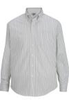Edwards 1983 Edwards Men's Double Stripe Dress Poplin Shirt