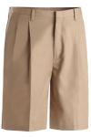 Edwards 2410 Edwards Men's Business Casual Pleated Chino Short
