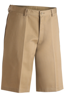 Edwards 2460 Edwards Men's Blended Flat Front Chino Short