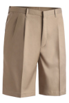 "Edwards 2474 Edwards Men's Microfiber Pleated Front Short-9"" Inseam"