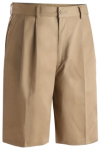 Edwards 2477 Edwards Men's Utility Pleated Front Chino Short