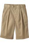 Edwards 2480 Men's Pleated Chino Shorts (Longer Length)