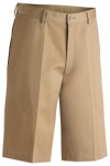 Edwards 2487 Edwards Men's Utility Flat Front Chino Short