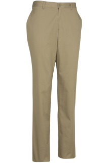 Edwards 2555 Edwards Men's Flat Front Slim Chino Pant