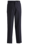 Edwards 2560 Men's Poly/Wool Pinstripe Flat Pant