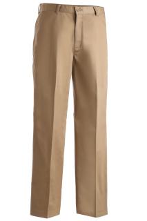 Edwards 2570 Edwards Men's Blended Chino Flat Front Pant