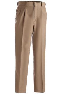 Edwards 2620 Edwards Men's Washable Wool Blend Pleated Pant