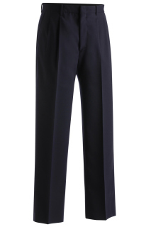 Edwards 2650 Edwards Men's Lightweight Wool Blend Pleated Pant