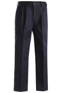 Edwards 2670 Edwards Men's Blended Chino Pleated Pant