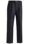 Edwards 2670 Edwards Men's Blended Chino Pleated Pant