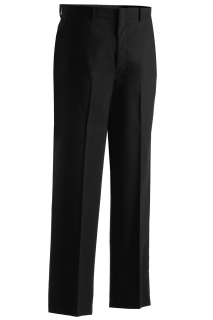 Edwards 2720 Edwards Men's Washable Wool Blend Flat Front Pant