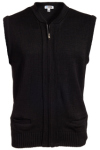 Edwards 302 Edwards Full-Zip Heavyweight Acrylic Sweater Vest