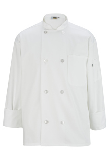 Edwards 3300 Edwards 8 Button Long Sleeve Chef Coat